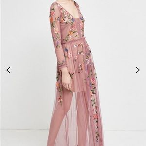 French Connection Katalina Sheer Maxi Dress
